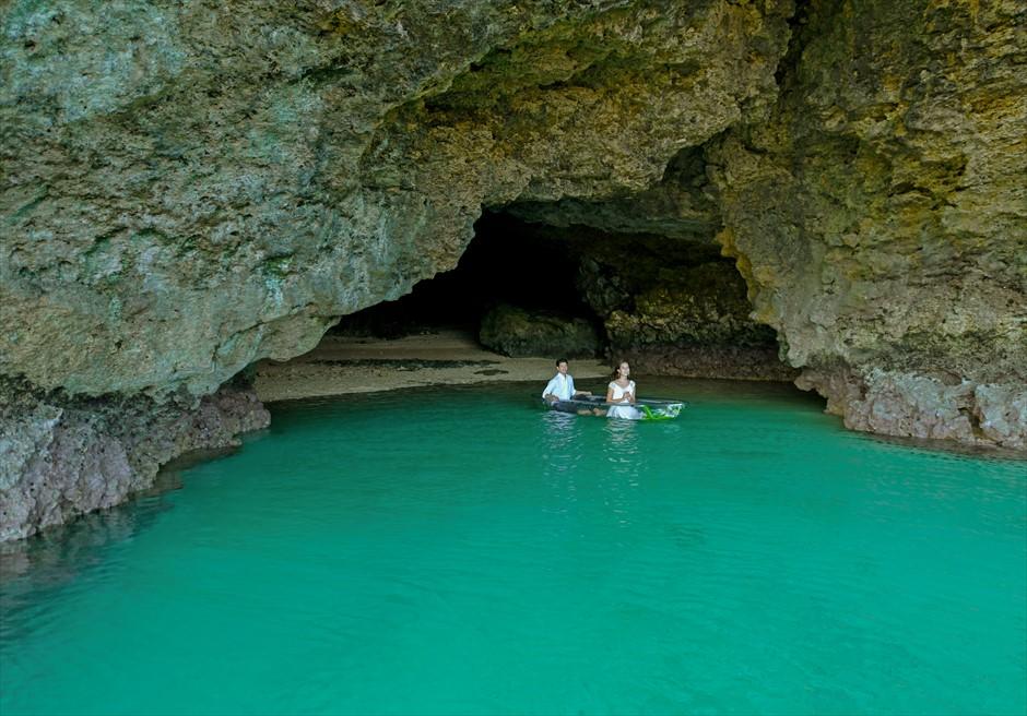 石垣島 青の洞窟 フォト・ウェデイング