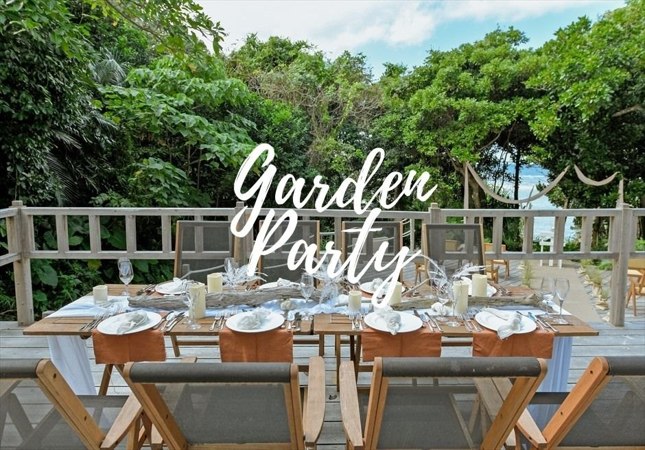 石垣島・ウェディング ヴィラ・貸切 ガーデン・パーティー