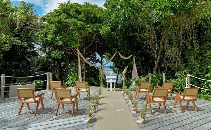 石垣島・結婚式 ガーデン オーシャンビュー