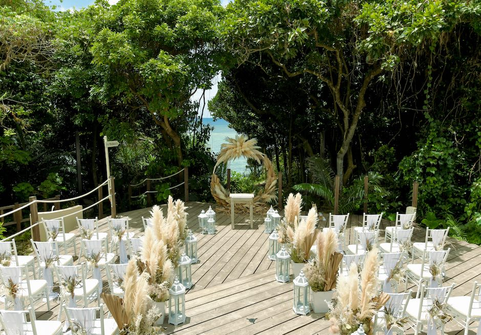 石垣島・ウェディング ヴィラ・貸切 ガーデン