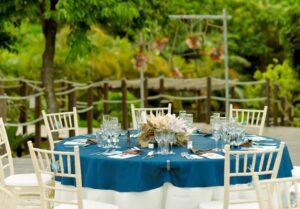 石垣島・ウェディング パーティー テーブルデコレーション